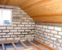 Дачный дом из бруса 6х6 с террасой - Новстрой Проект